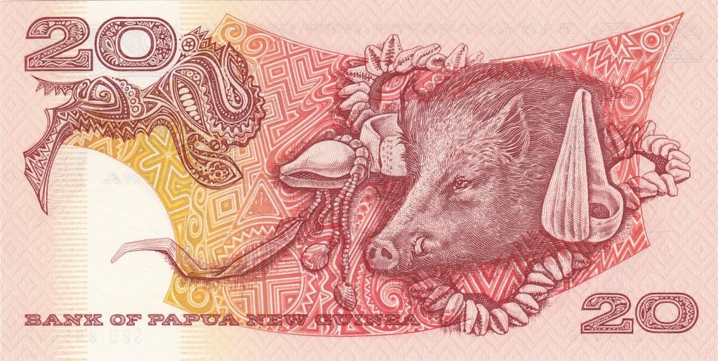 ¿Se pueden coleccionar todos los billetes de un país? PAPUA NUEVA GUINEA 20_kin13