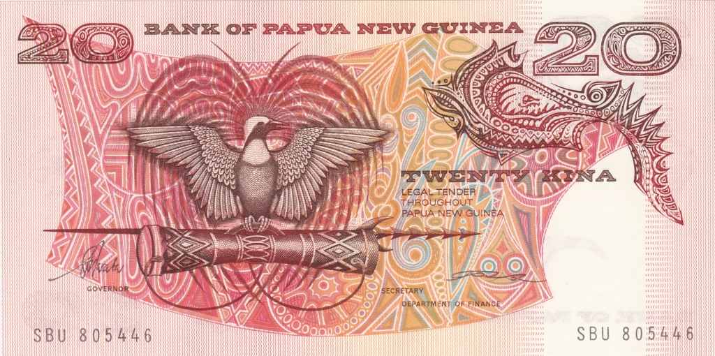 ¿Se pueden coleccionar todos los billetes de un país? PAPUA NUEVA GUINEA 20_kin14