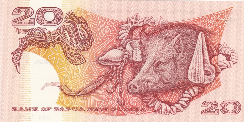 ¿Se pueden coleccionar todos los billetes de un país? PAPUA NUEVA GUINEA 20_kin15