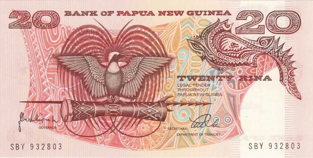 ¿Se pueden coleccionar todos los billetes de un país? PAPUA NUEVA GUINEA 20_kin16