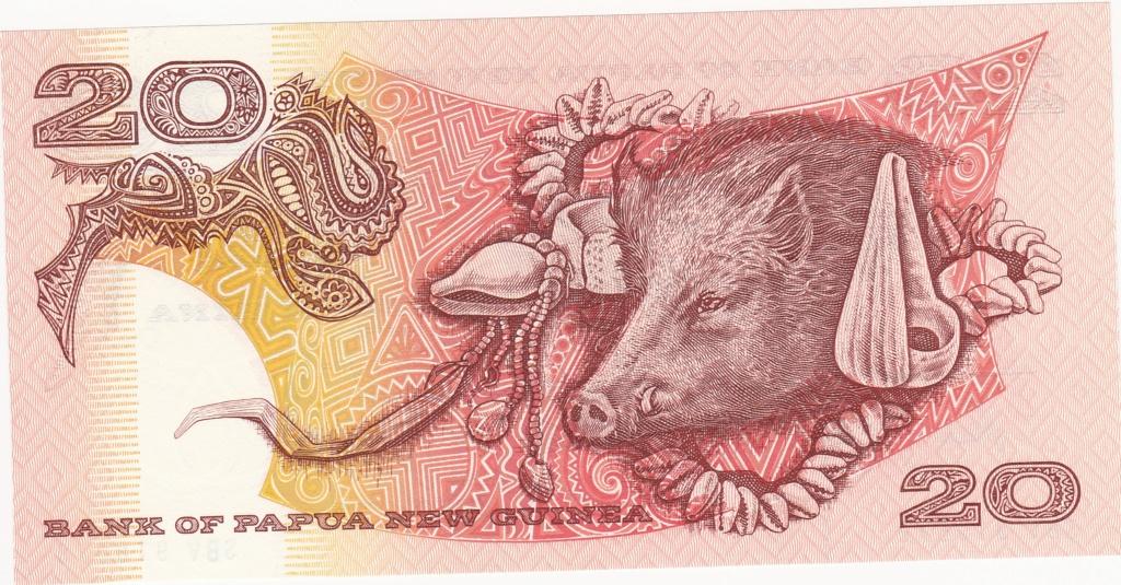 ¿Se pueden coleccionar todos los billetes de un país? PAPUA NUEVA GUINEA 20_kin17