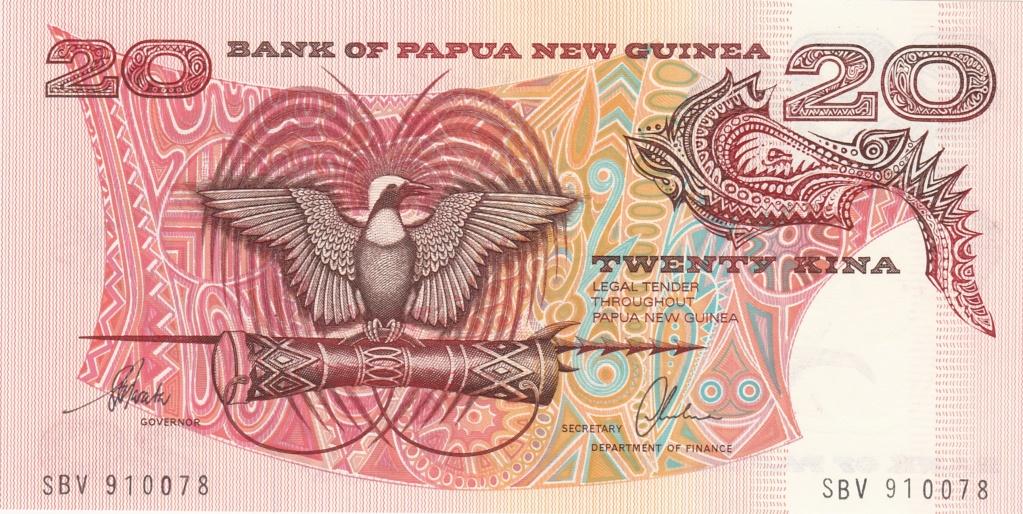 ¿Se pueden coleccionar todos los billetes de un país? PAPUA NUEVA GUINEA 20_kin18
