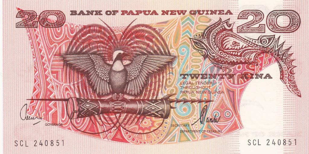 ¿Se pueden coleccionar todos los billetes de un país? PAPUA NUEVA GUINEA 20_kin19