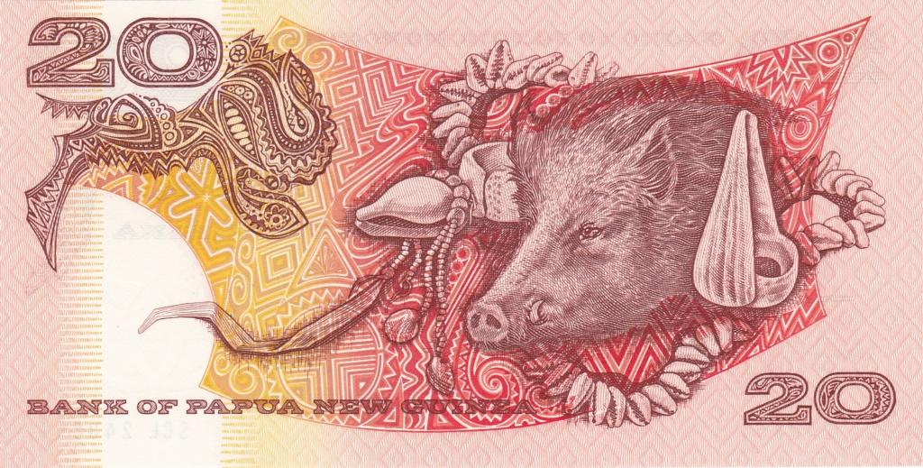 ¿Se pueden coleccionar todos los billetes de un país? PAPUA NUEVA GUINEA 20_kin20