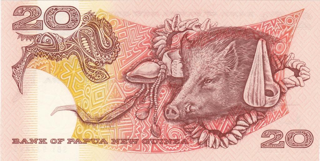 ¿Se pueden coleccionar todos los billetes de un país? PAPUA NUEVA GUINEA 20_kin21