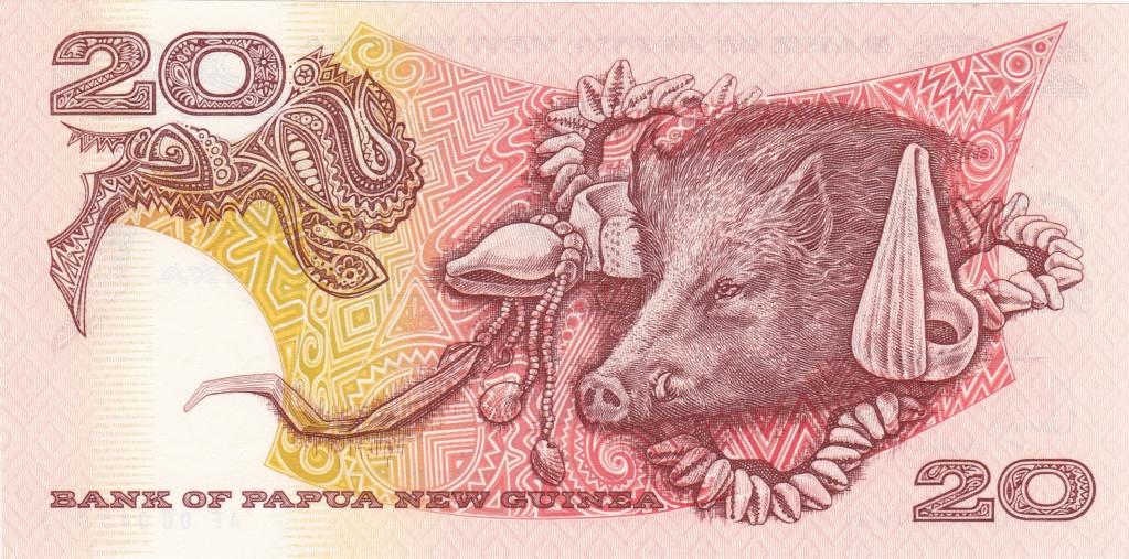 ¿Se pueden coleccionar todos los billetes de un país? PAPUA NUEVA GUINEA 20_kin22