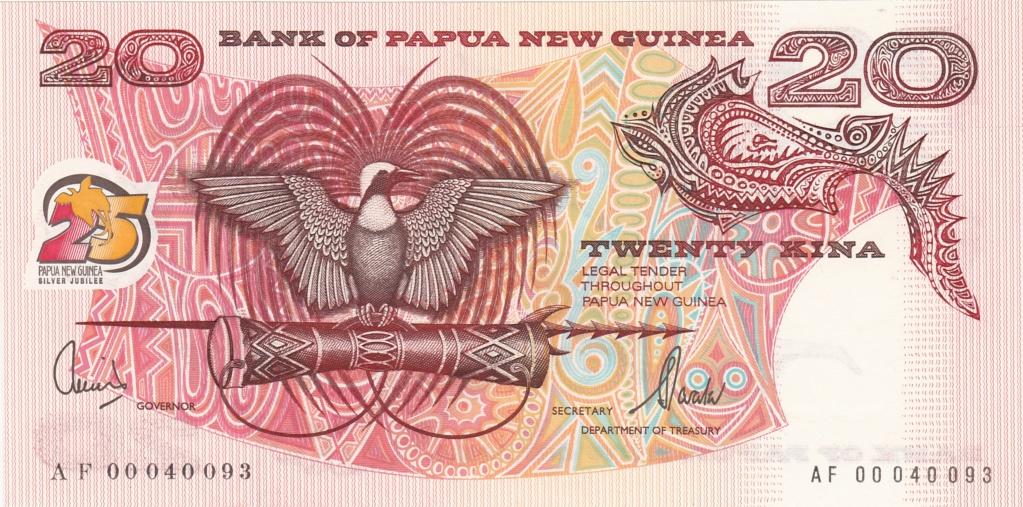 ¿Se pueden coleccionar todos los billetes de un país? PAPUA NUEVA GUINEA 20_kin23