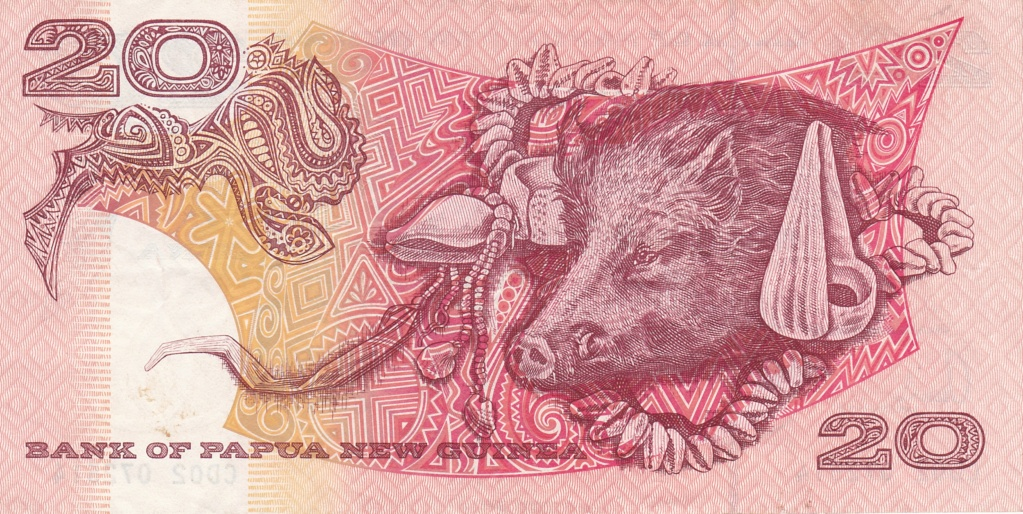 ¿Se pueden coleccionar todos los billetes de un país? PAPUA NUEVA GUINEA 20_kin25