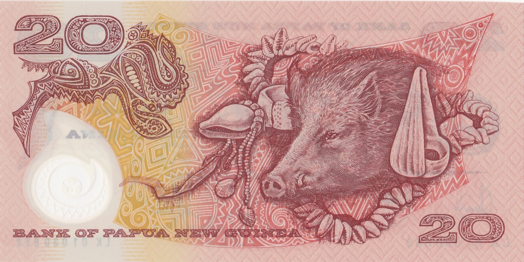 ¿Se pueden coleccionar todos los billetes de un país? PAPUA NUEVA GUINEA 20_kin26