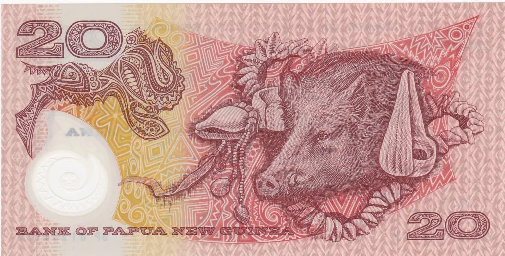¿Se pueden coleccionar todos los billetes de un país? PAPUA NUEVA GUINEA 20_kin28