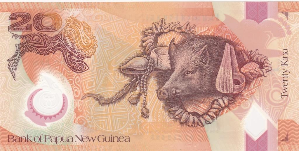 ¿Se pueden coleccionar todos los billetes de un país? PAPUA NUEVA GUINEA 20_kin30