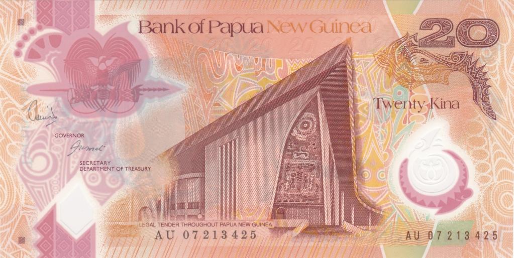 ¿Se pueden coleccionar todos los billetes de un país? PAPUA NUEVA GUINEA 20_kin32