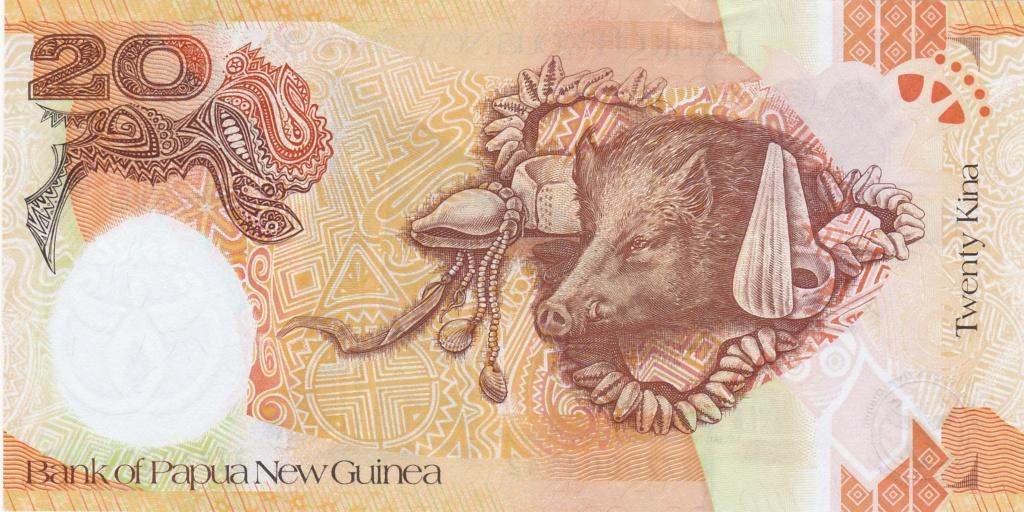 ¿Se pueden coleccionar todos los billetes de un país? PAPUA NUEVA GUINEA 20_kin34