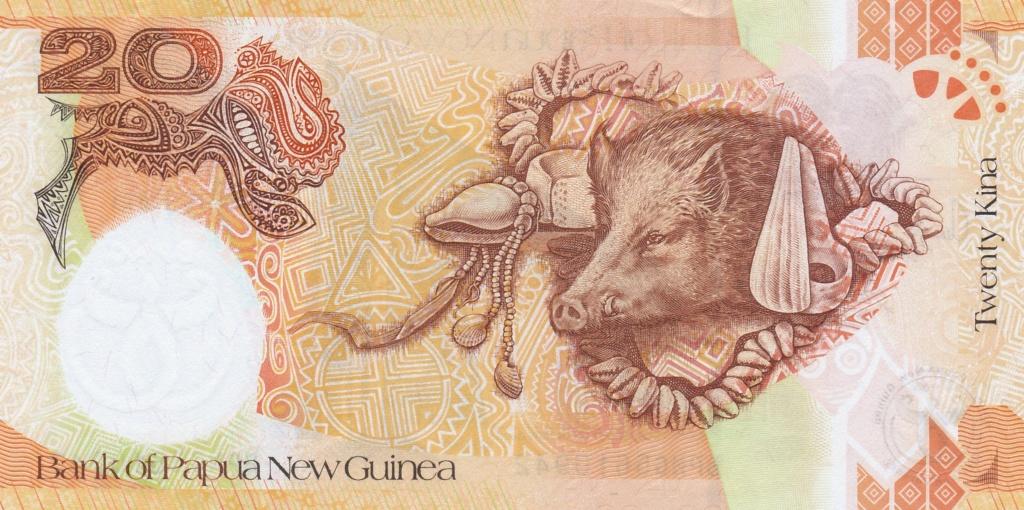 ¿Se pueden coleccionar todos los billetes de un país? PAPUA NUEVA GUINEA 20_kin35