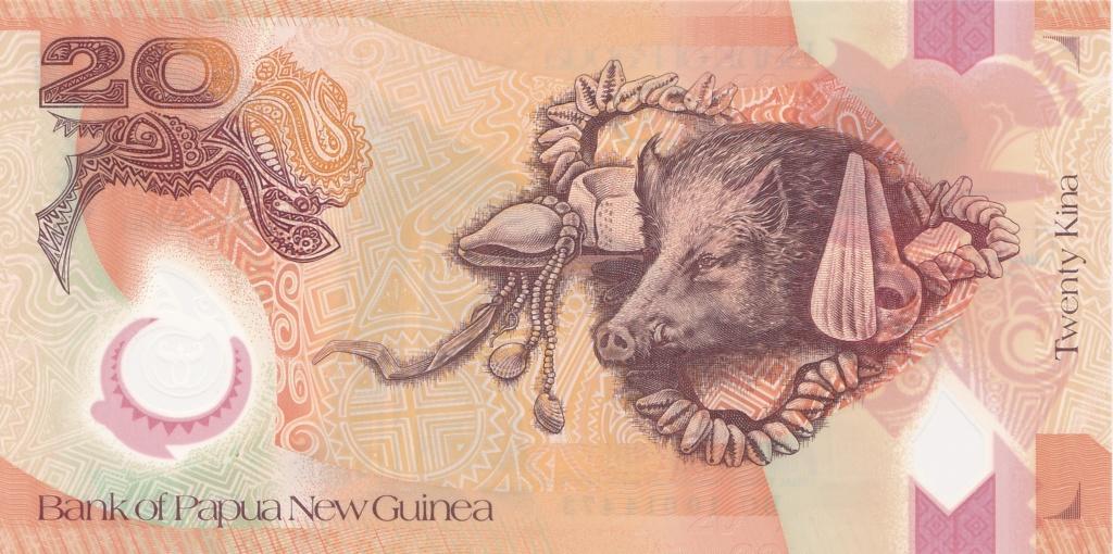 ¿Se pueden coleccionar todos los billetes de un país? PAPUA NUEVA GUINEA 20_kin36