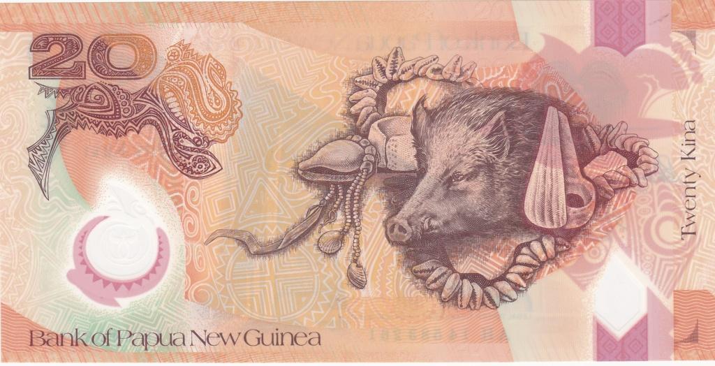 ¿Se pueden coleccionar todos los billetes de un país? PAPUA NUEVA GUINEA 20_kin39