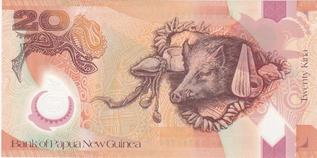 ¿Se pueden coleccionar todos los billetes de un país? PAPUA NUEVA GUINEA 20_kin41