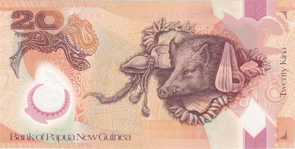 ¿Se pueden coleccionar todos los billetes de un país? PAPUA NUEVA GUINEA 20_kin42