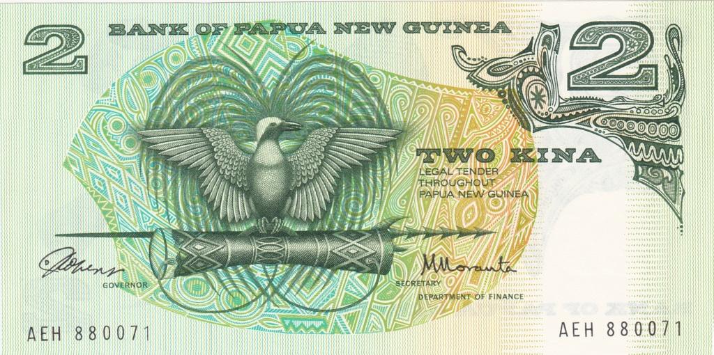 ¿Se pueden coleccionar todos los billetes de un país? PAPUA NUEVA GUINEA 2_kina14