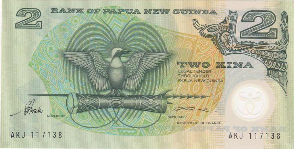 ¿Se pueden coleccionar todos los billetes de un país? PAPUA NUEVA GUINEA 2_kina22