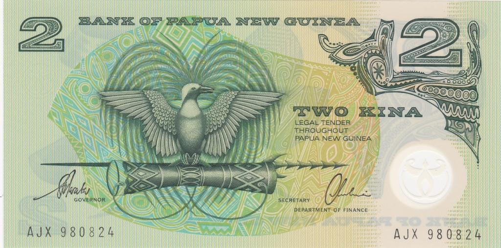 ¿Se pueden coleccionar todos los billetes de un país? PAPUA NUEVA GUINEA 2_kina27