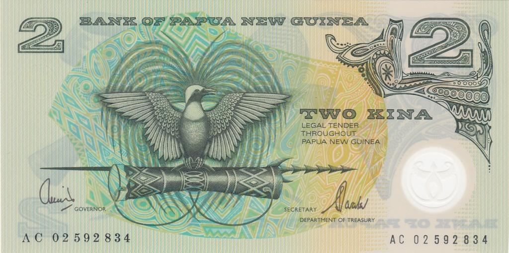 ¿Se pueden coleccionar todos los billetes de un país? PAPUA NUEVA GUINEA 2_kina33