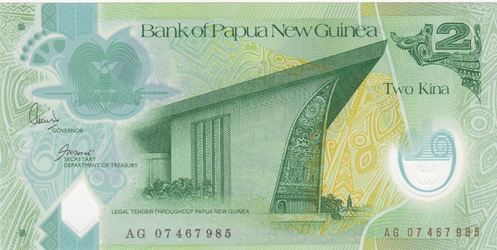 ¿Se pueden coleccionar todos los billetes de un país? PAPUA NUEVA GUINEA 2_kina35