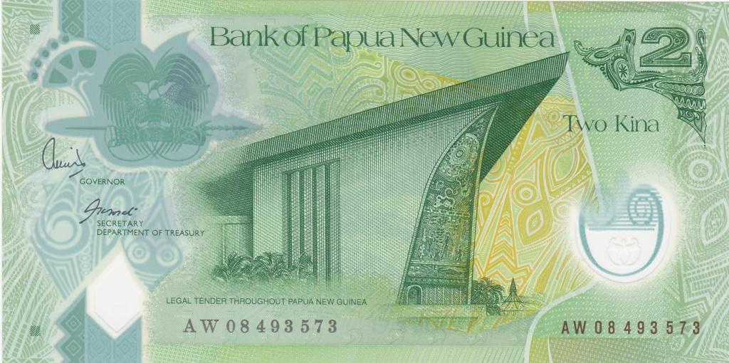 ¿Se pueden coleccionar todos los billetes de un país? PAPUA NUEVA GUINEA 2_kina36