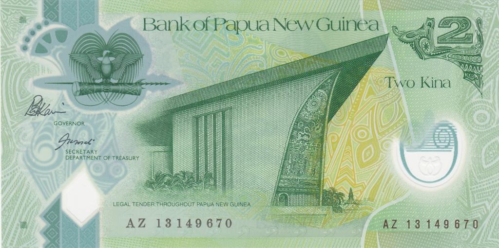 ¿Se pueden coleccionar todos los billetes de un país? PAPUA NUEVA GUINEA 2_kina41