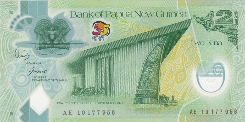 ¿Se pueden coleccionar todos los billetes de un país? PAPUA NUEVA GUINEA 2_kina42