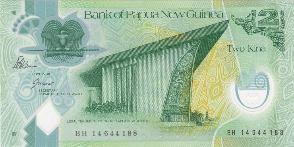 ¿Se pueden coleccionar todos los billetes de un país? PAPUA NUEVA GUINEA 2_kina46