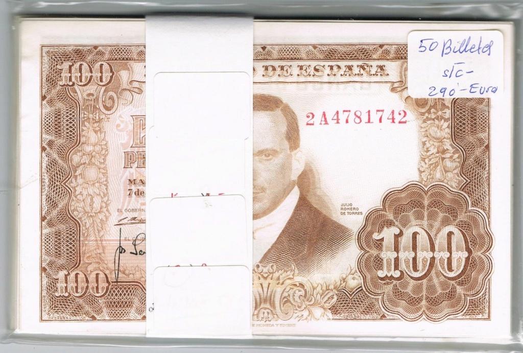 Investigación - Billetes de 100 pts 1953 Romero de Torres 2a10