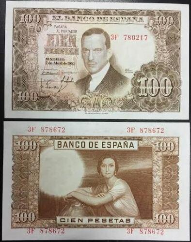 Investigación - Billetes de 100 pts 1953 Romero de Torres 3f10