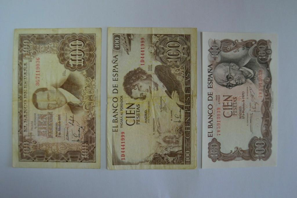 Investigación - Billetes de 100 pts 1953 Romero de Torres 3g10