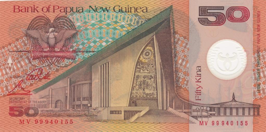 ¿Se pueden coleccionar todos los billetes de un país? PAPUA NUEVA GUINEA 50_kin10