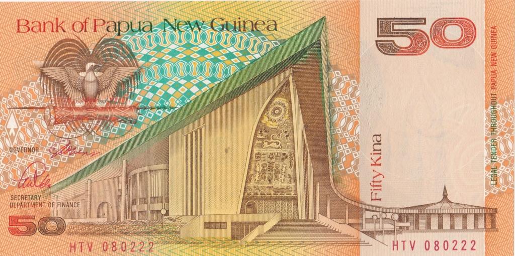 ¿Se pueden coleccionar todos los billetes de un país? PAPUA NUEVA GUINEA 50_kin11