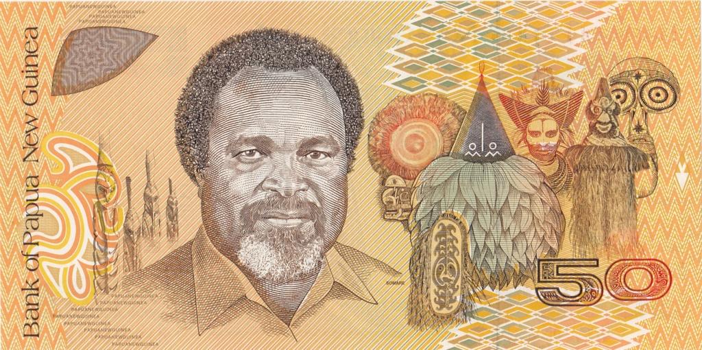 ¿Se pueden coleccionar todos los billetes de un país? PAPUA NUEVA GUINEA 50_kin12