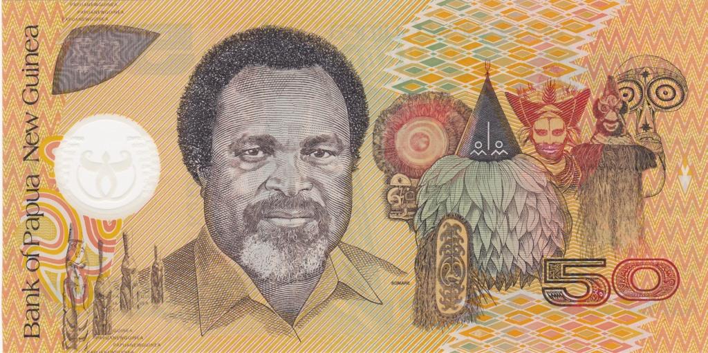 ¿Se pueden coleccionar todos los billetes de un país? PAPUA NUEVA GUINEA 50_kin14