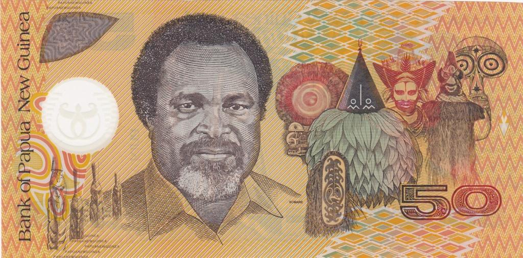 ¿Se pueden coleccionar todos los billetes de un país? PAPUA NUEVA GUINEA 50_kin15