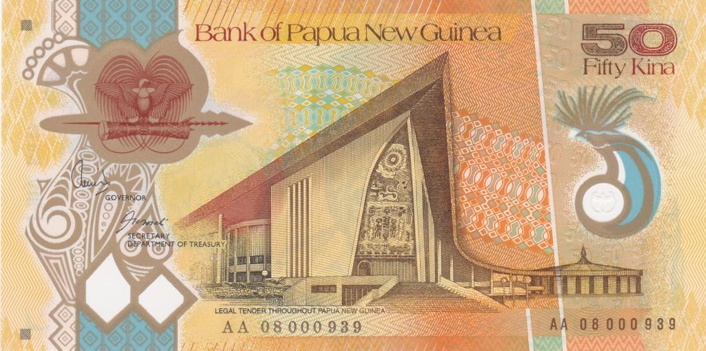 ¿Se pueden coleccionar todos los billetes de un país? PAPUA NUEVA GUINEA 50_kin17