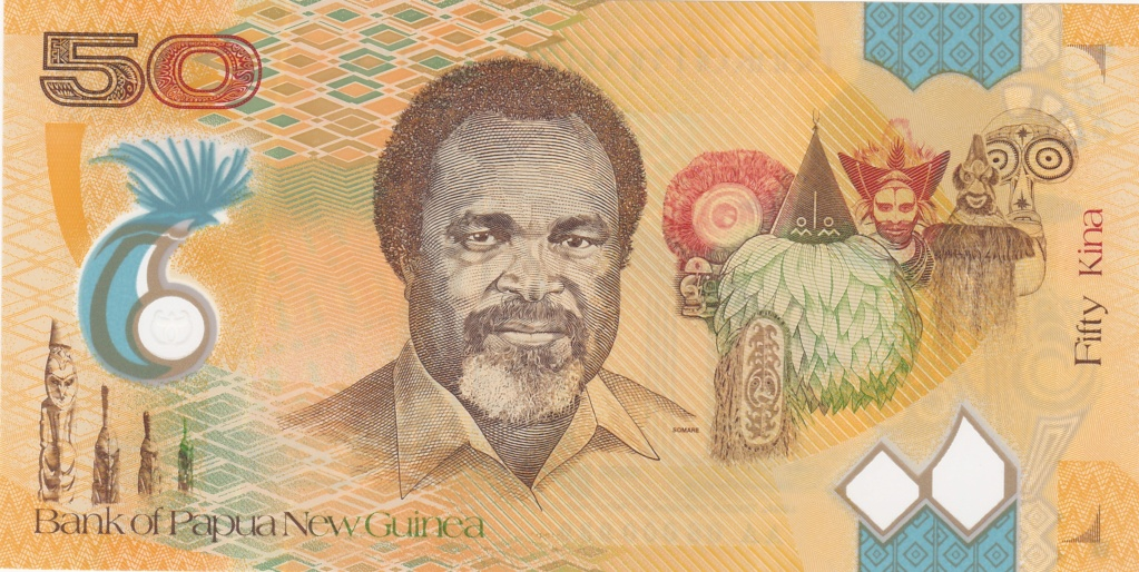 ¿Se pueden coleccionar todos los billetes de un país? PAPUA NUEVA GUINEA 50_kin18