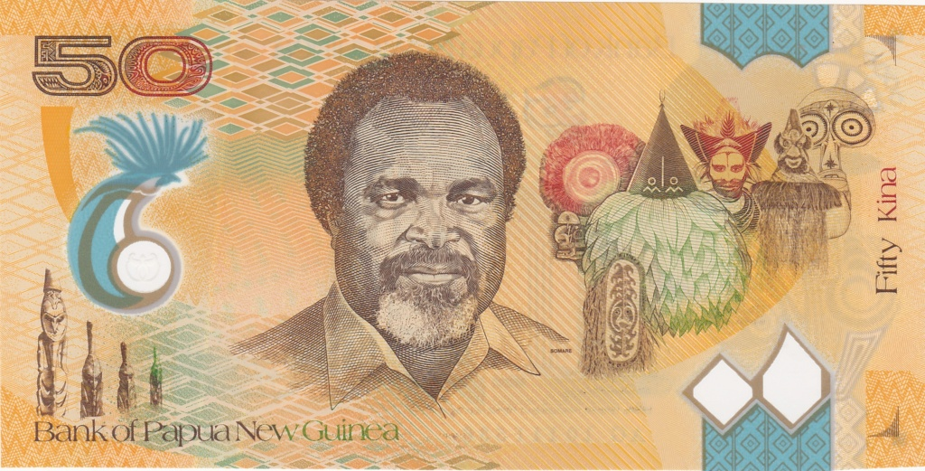 ¿Se pueden coleccionar todos los billetes de un país? PAPUA NUEVA GUINEA 50_kin19