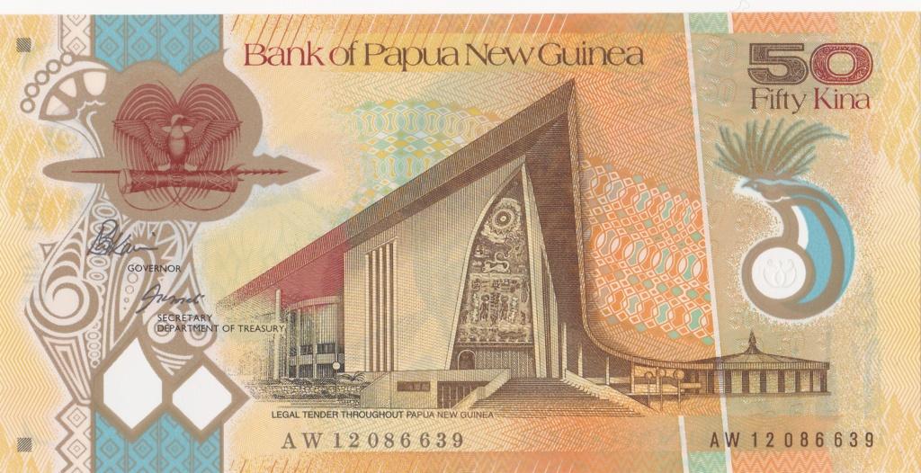 ¿Se pueden coleccionar todos los billetes de un país? PAPUA NUEVA GUINEA 50_kin22