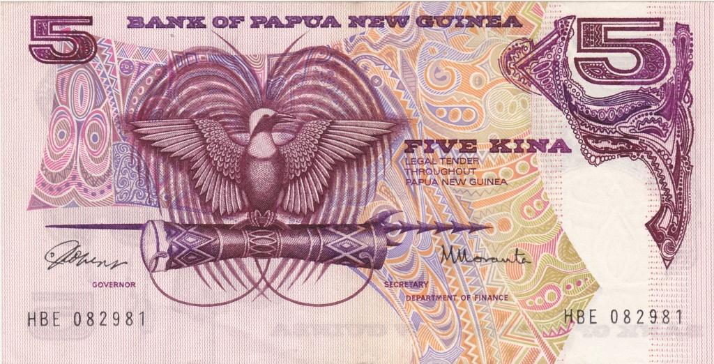 ¿Se pueden coleccionar todos los billetes de un país? PAPUA NUEVA GUINEA 5_kina12