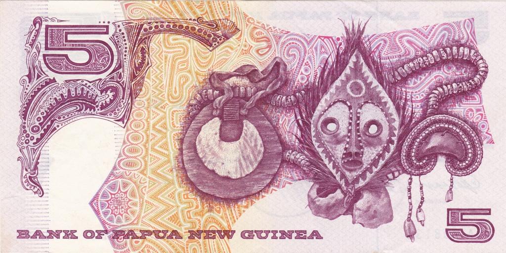 ¿Se pueden coleccionar todos los billetes de un país? PAPUA NUEVA GUINEA 5_kina13