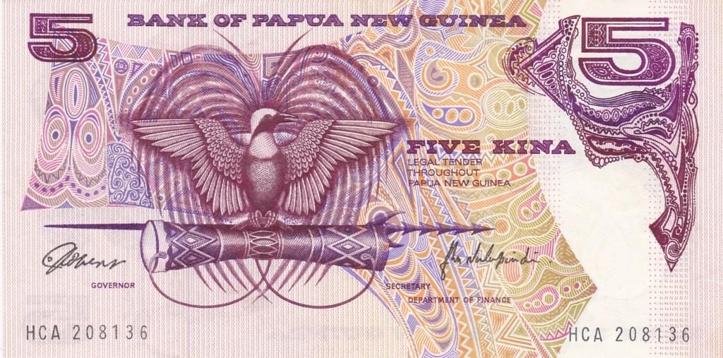 ¿Se pueden coleccionar todos los billetes de un país? PAPUA NUEVA GUINEA 5_kina14