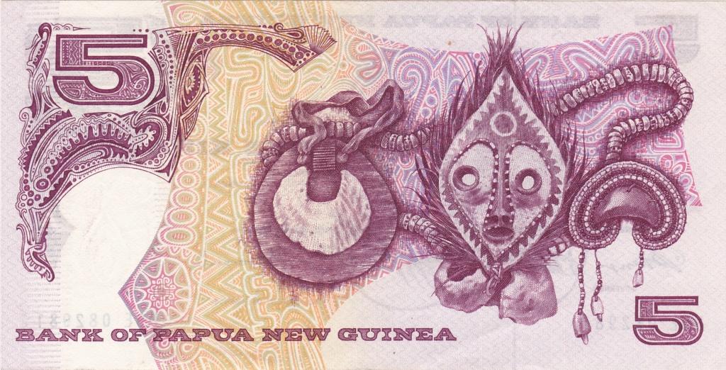 ¿Se pueden coleccionar todos los billetes de un país? PAPUA NUEVA GUINEA 5_kina15