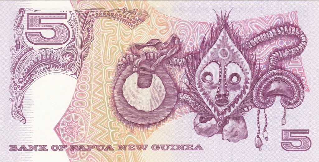 ¿Se pueden coleccionar todos los billetes de un país? PAPUA NUEVA GUINEA 5_kina16