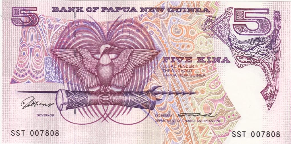 ¿Se pueden coleccionar todos los billetes de un país? PAPUA NUEVA GUINEA 5_kina17