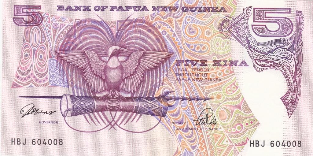 ¿Se pueden coleccionar todos los billetes de un país? PAPUA NUEVA GUINEA 5_kina18